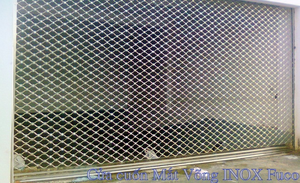 Cửa cuốn lưới mắt võng inox, hay còn gọi là cửa cuốn lưới mắt cáo